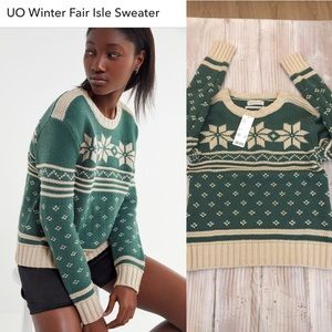 New!Urban outfitters cozy sweater NWT